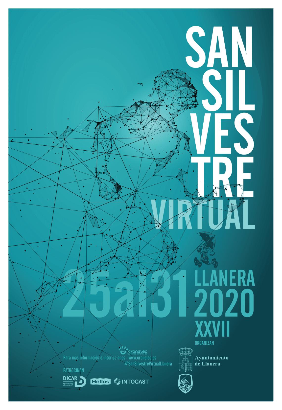 CARTEL XXVII San Silvestre de Llanera (Virtual)