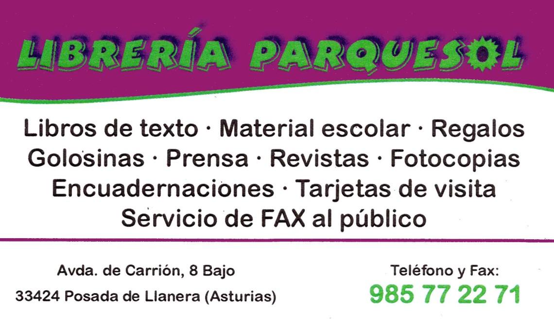 Librería Parquesol copia